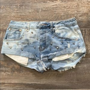 🌻3/20 Revamped cute jean shorts nice condition